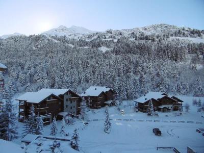 Location au ski Appartement 3 pièces 6 personnes (004) - Résidence Alpages A - Méribel-Mottaret - Extérieur hiver