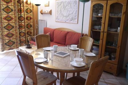 Location au ski Appartement 3 pièces 6 personnes (004) - Résidence Alpages A - Méribel-Mottaret - Table