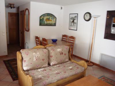 Location au ski Appartement 3 pièces 6 personnes (004) - Résidence Alpages D - Méribel-Mottaret - Banquette
