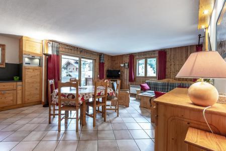 Location au ski Appartement 4 pièces 8 personnes (002) - Résidence Alpages D - Méribel-Mottaret - Séjour