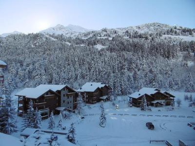 Location au ski Appartement 3 pièces 7 personnes (005) - Résidence Alpages E - Méribel-Mottaret - Extérieur hiver