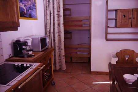Location au ski Appartement 3 pièces 7 personnes (005) - Résidence Alpages E - Méribel-Mottaret - Kitchenette