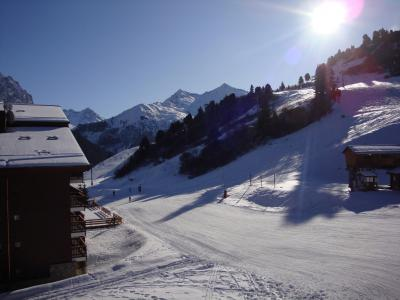 Location au ski Appartement 2 pièces 6 personnes (049) - Résidence Arpasson - Méribel-Mottaret - Extérieur hiver