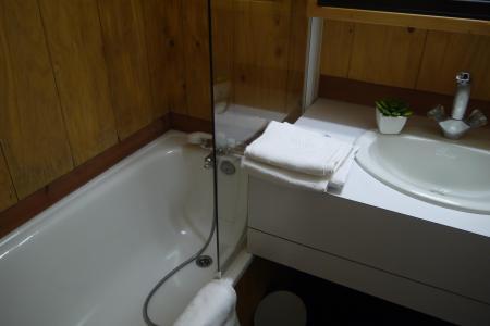 Location au ski Appartement 2 pièces 6 personnes (064) - Résidence Arpasson - Méribel-Mottaret - Baignoire