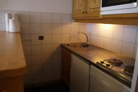 Location au ski Appartement 2 pièces 6 personnes (064) - Résidence Arpasson - Méribel-Mottaret - Kitchenette
