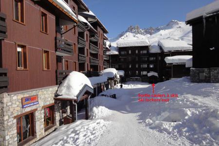 Location au ski Résidence Boulevard - Méribel-Mottaret - Extérieur hiver