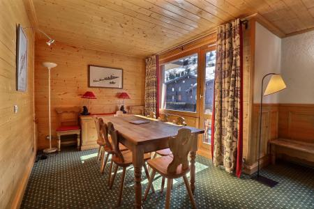 Location au ski Appartement duplex 4 pièces cabine 8 personnes (B21) - Résidence Boulevard - Méribel-Mottaret - Salle à manger