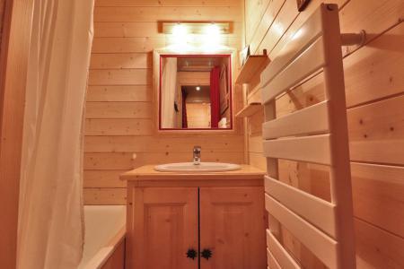 Location au ski Appartement duplex 4 pièces cabine 8 personnes (B21) - Résidence Boulevard - Méribel-Mottaret - Salle de bains