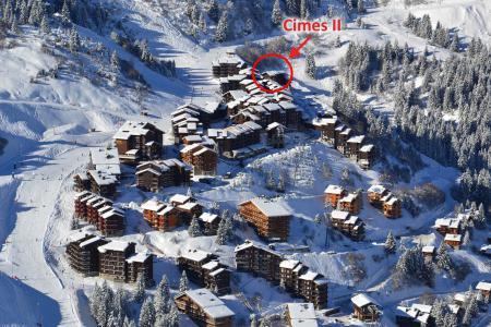 Location au ski Résidence Cimes II - Méribel-Mottaret - Extérieur hiver