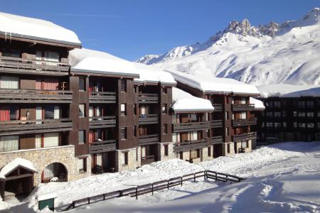 Location Méribel : Résidence Creux de l'Ours Bleu hiver