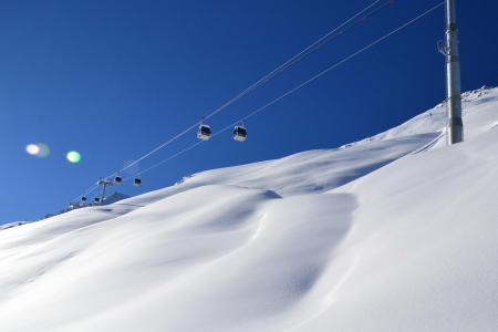 Location au ski Résidence Creux de l'Ours Bleu - Méribel-Mottaret - Extérieur hiver