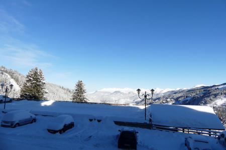 Location au ski Appartement 2 pièces 4 personnes (21) - Résidence Creux de l'Ours Bleu - Méribel-Mottaret - Extérieur hiver