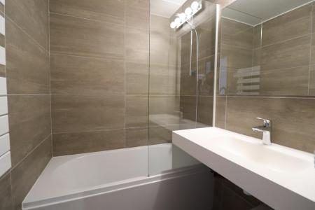 Location au ski Appartement 2 pièces 4 personnes (084) - Résidence Creux de l'Ours Bleu - Méribel-Mottaret - Salle de bains