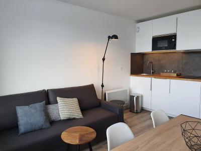 Location au ski Appartement 2 pièces 4 personnes (21) - Résidence Creux de l'Ours Bleu - Méribel-Mottaret - Banquette-lit tiroir