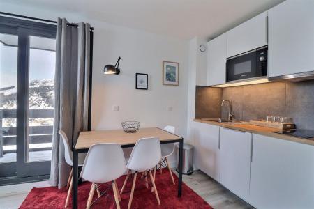 Location au ski Appartement 2 pièces 4 personnes (53) - Résidence Creux de l'Ours Bleu - Méribel-Mottaret - Séjour