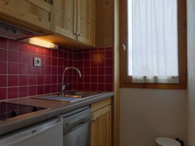 Location au ski Appartement 2 pièces 4 personnes (A19) - Résidence Creux de l'Ours Rouge - Méribel-Mottaret - Kitchenette