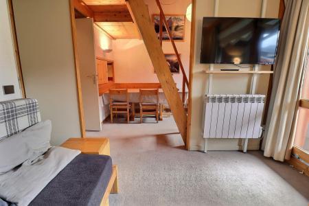 Rent in ski resort 2 room mezzanine apartment 5 people (062) - Résidence Dandy - Méribel-Mottaret - Living room