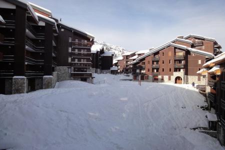 Holiday in mountain resort 2 room mezzanine apartment 5 people (062) - Résidence Dandy - Méribel-Mottaret - Winter outside