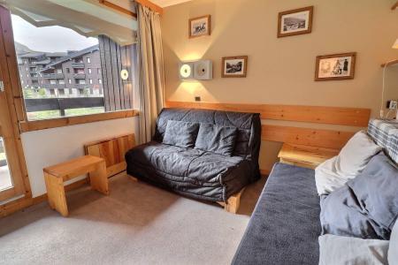 Location au ski Appartement 2 pièces mezzanine 5 personnes (062) - Résidence Dandy - Méribel-Mottaret - Banquette