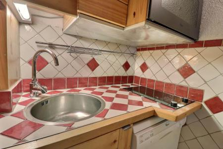 Location au ski Appartement 2 pièces mezzanine 5 personnes (062) - Résidence Dandy - Méribel-Mottaret - Kitchenette