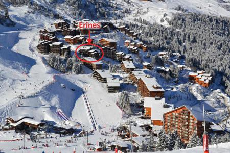 Location au ski Résidence Erines - Méribel-Mottaret - Extérieur hiver
