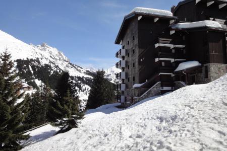 Location au ski Studio 2 personnes (004) - Résidence Erines - Méribel-Mottaret - Extérieur hiver