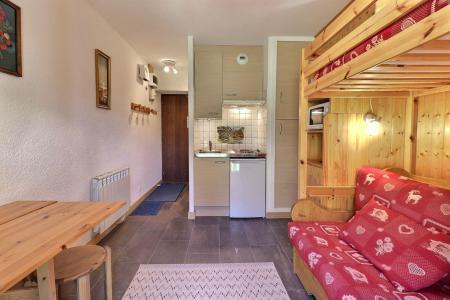 Location au ski Studio 2 personnes (004) - Résidence Erines - Méribel-Mottaret - Séjour