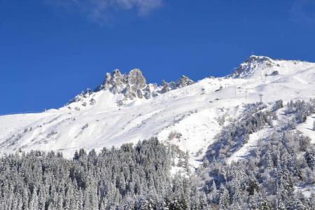 Location au ski Résidence Gentianes - Méribel-Mottaret - Extérieur hiver