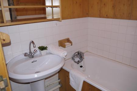Location au ski Appartement 2 pièces 6 personnes (A02) - Résidence Grand Dou - Méribel-Mottaret - Baignoire