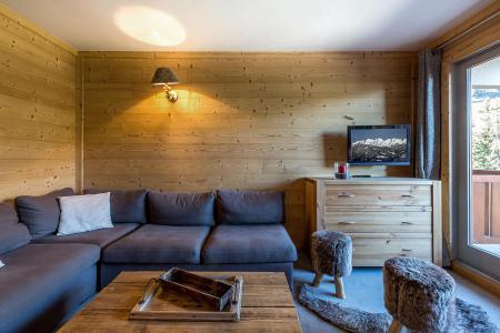 Location au ski Appartement 2 pièces 6 personnes (A07) - Résidence Grand Dou - Méribel-Mottaret - Banquette