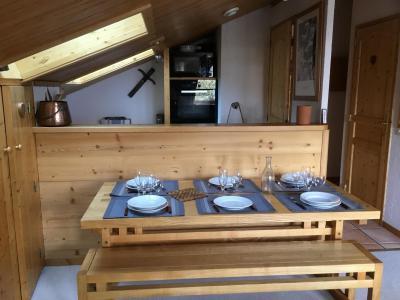 Location au ski Appartement 3 pièces 6 personnes (A25) - Résidence Grand Dou - Méribel-Mottaret - Cuisine