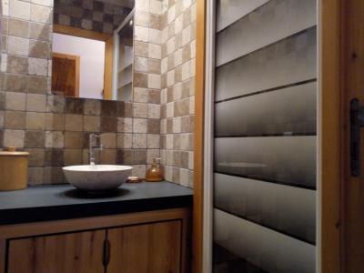 Location au ski Appartement 3 pièces 6 personnes (A25) - Résidence Grand Dou - Méribel-Mottaret - Salle d'eau