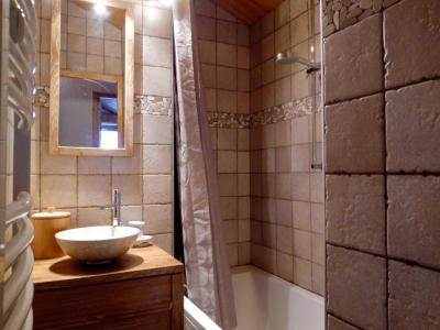 Location au ski Appartement 3 pièces 6 personnes (A25) - Résidence Grand Dou - Méribel-Mottaret - Salle de bains