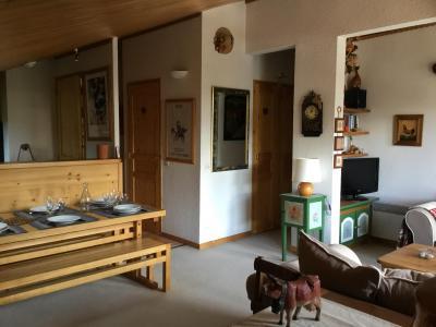 Location au ski Appartement 3 pièces 6 personnes (A25) - Résidence Grand Dou - Méribel-Mottaret - Table