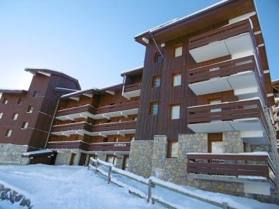 Vacances en montagne Résidence l'Alpinéa - Méribel-Mottaret - Extérieur hiver