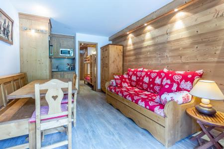 Location au ski Appartement 2 pièces 6 personnes (C04) - Résidence l'Alpinéa - Méribel-Mottaret - Canapé-lit