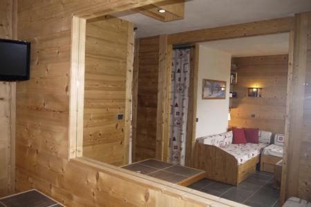 Location au ski Studio 4 personnes (09) - Résidence l'Arc en Ciel - Méribel-Mottaret - Séjour