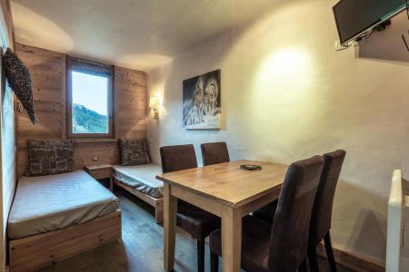 Location au ski Studio 4 personnes (I03) - Résidence l'Arc en Ciel - Méribel-Mottaret - Séjour