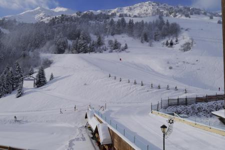 Location au ski Appartement 3 pièces 6 personnes (011) - Résidence l'Olympie I - Méribel-Mottaret - Extérieur hiver