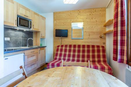 Location au ski Studio 3 personnes (019) - Résidence la Grande Rosière - Méribel-Mottaret - Séjour