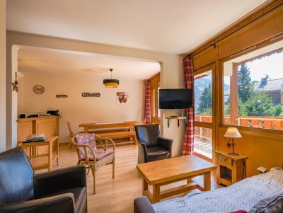 Location au ski Appartement 2 pièces 6 personnes (029) - Résidence la Vanoise - Méribel-Mottaret - Séjour