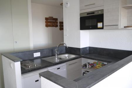 Location au ski Appartement 3 pièces 6 personnes (013) - Résidence la Vanoise - Méribel-Mottaret - Kitchenette