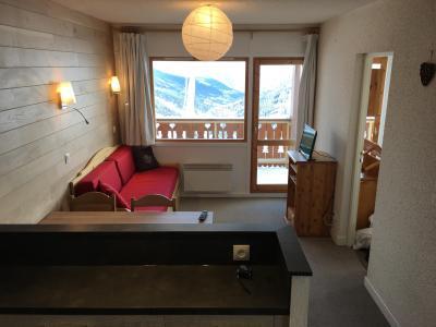 Location au ski Appartement 3 pièces 6 personnes (013) - Résidence la Vanoise - Méribel-Mottaret - Séjour