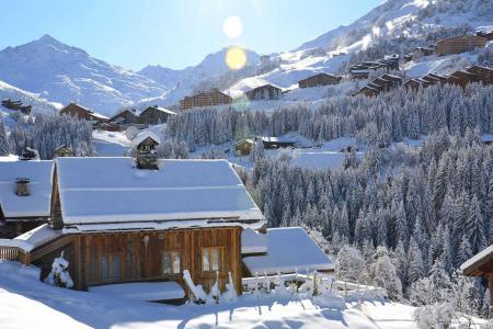 Vacances en montagne Résidence Lac Blanc - Méribel-Mottaret - Extérieur hiver