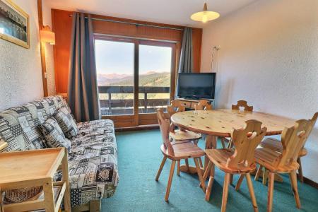 Location au ski Appartement duplex 3 pièces 6 personnes (F9) - Résidence Lac Blanc - Méribel-Mottaret - Séjour