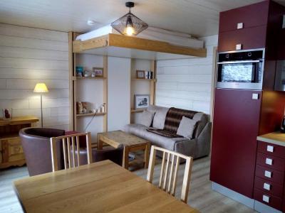 Location au ski Appartement 2 pièces 4 personnes (022) - Résidence Lama - Méribel-Mottaret - Table
