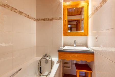 Location au ski Appartement 3 pièces 6 personnes (018) - Résidence Lama - Méribel-Mottaret - Baignoire