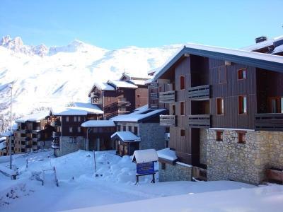 Location au ski Studio 4 personnes (20) - Résidence le Candide - Méribel-Mottaret - Extérieur hiver