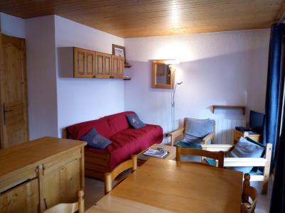 Location au ski Appartement 3 pièces 6 personnes (004) - Résidence le Florilège - Méribel-Mottaret - Banquette