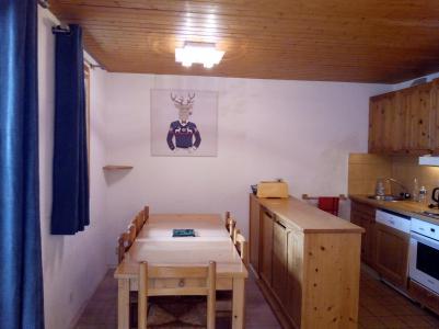 Location au ski Appartement 3 pièces 6 personnes (004) - Résidence le Florilège - Méribel-Mottaret - Coin repas
